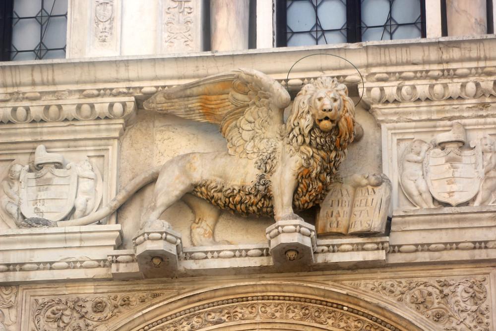St. Mark's lion statue