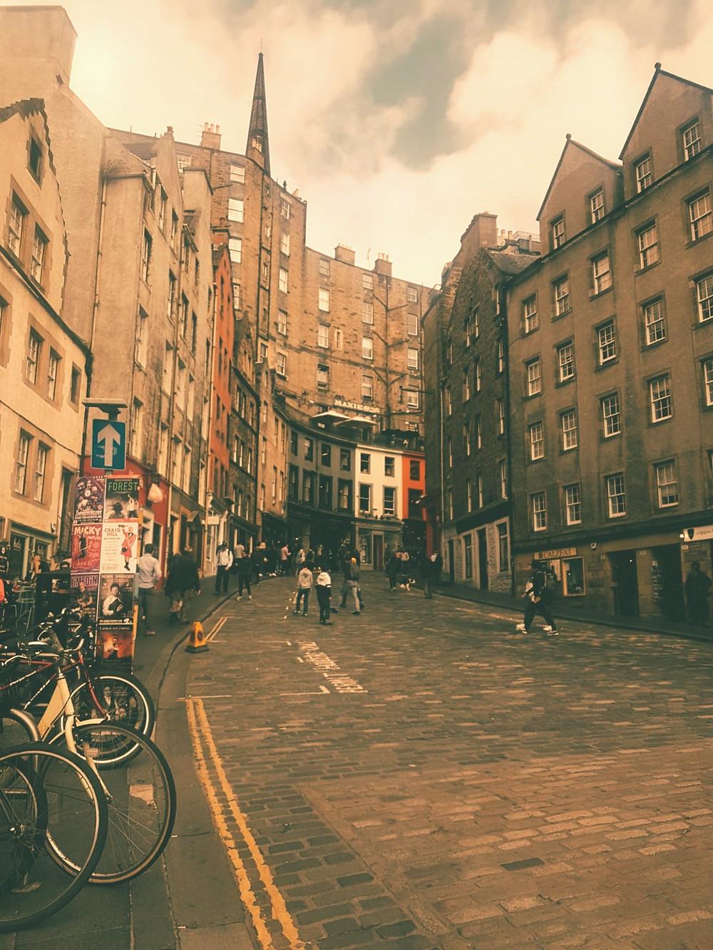 Victoria Street- Scotland's Diagon Alley