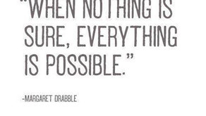 Als niets zeker is, is alles mogelijk