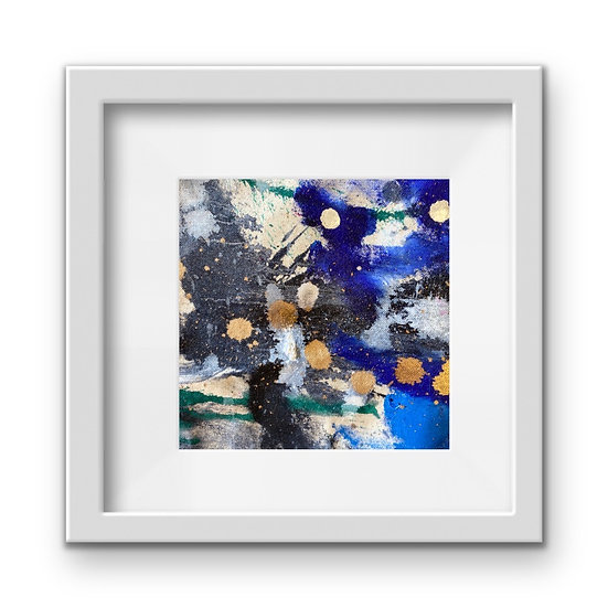 Framed Mini Abstract (#35)