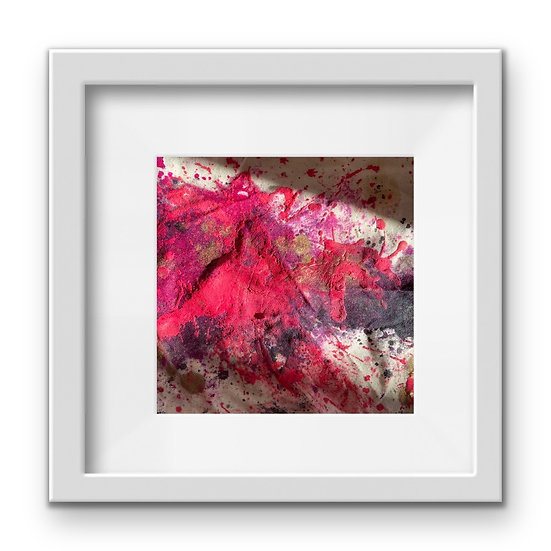 Framed Mini Abstract (#32)