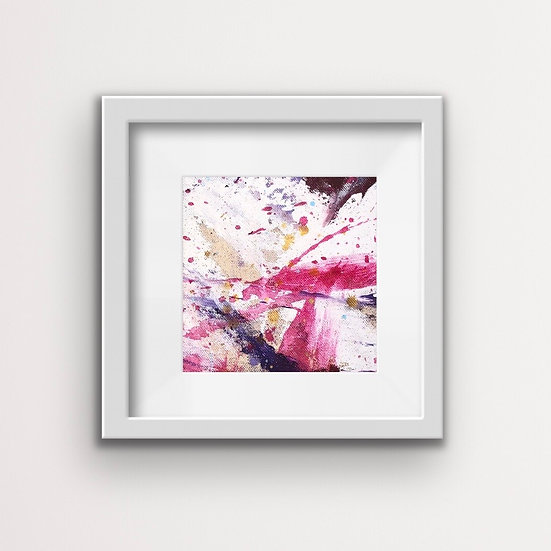 Framed Mini Abstract (#3)