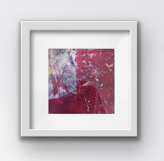 Framed Mini Abstract (#16)