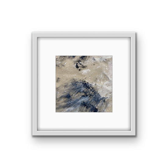 Framed Mini Abstract (#40)