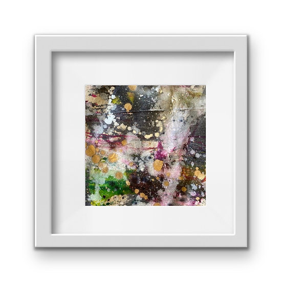 Framed Mini Abstract (#33)