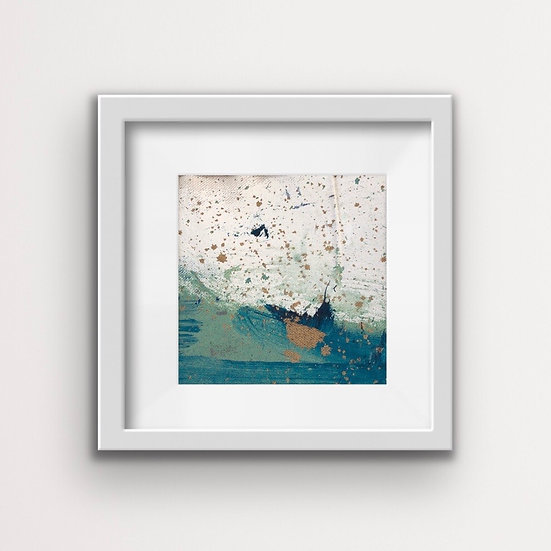Framed Mini Abstract (#2)