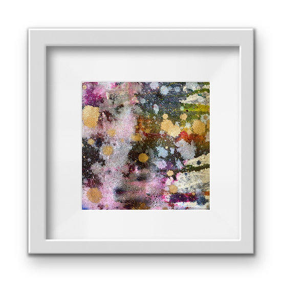 Framed Mini Abstract (#37)