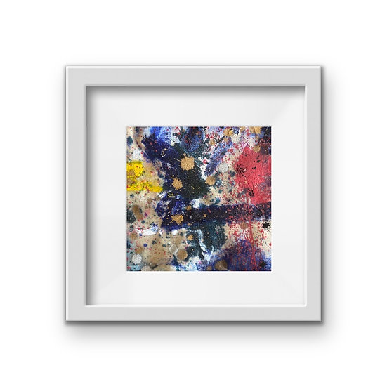 Framed Mini Abstract (#30)