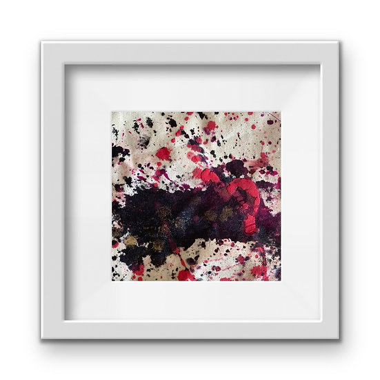 Framed Mini Abstract (#31)