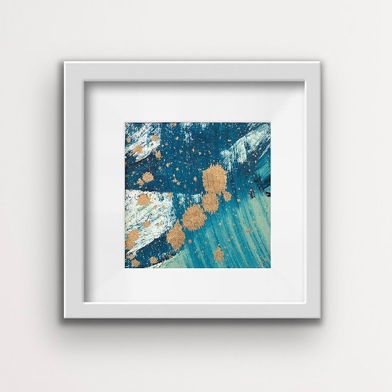 Framed Mini Abstract (#8)