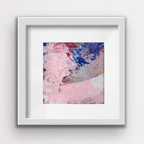 Framed Mini Abstract (#9)