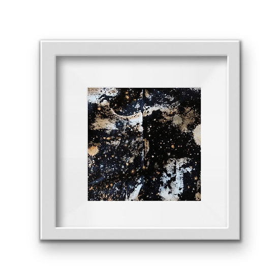Framed Mini Abstract (#23)
