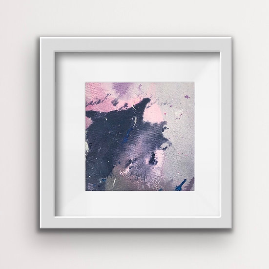 Framed Mini Abstract (#14)
