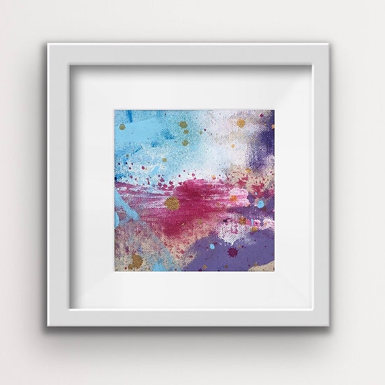 Framed Mini Abstract (#6)