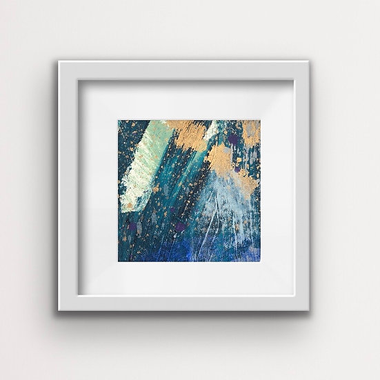 Framed Mini Abstract (#4)