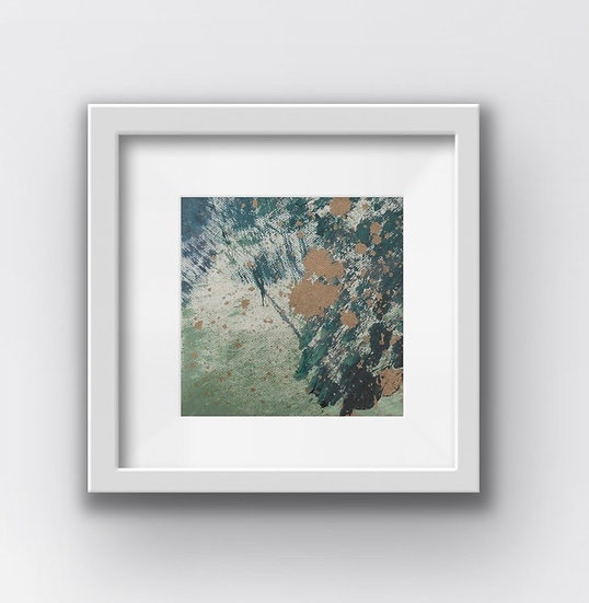 Framed Mini Abstract (#21)
