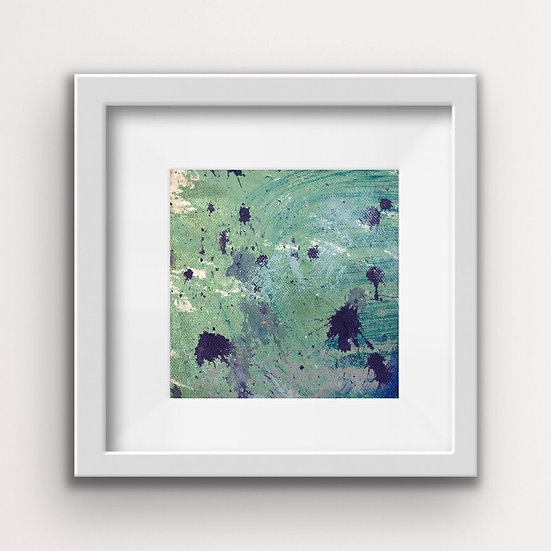 Framed Mini Abstract (#13)