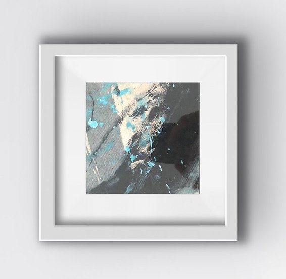 Framed Mini Abstract (#20)