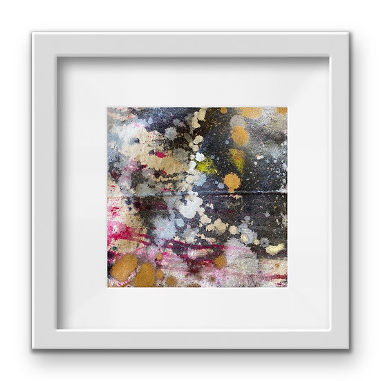 Framed Mini Abstract (#36)