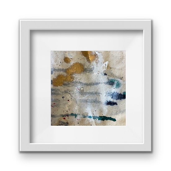 Framed Mini Abstract (#38)