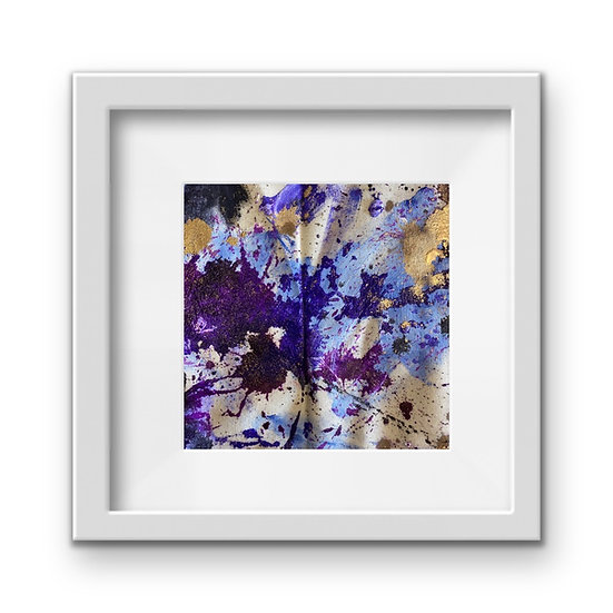Framed Mini Abstract (#27)