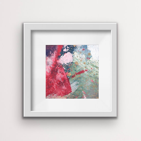 Framed Mini Abstract (#1)