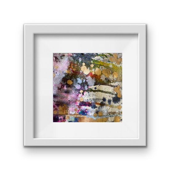 Framed Mini Abstract (#34)