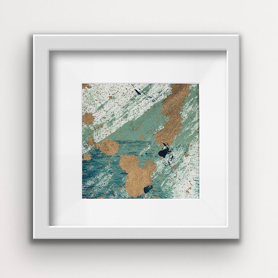 Framed Mini Abstract (#7)