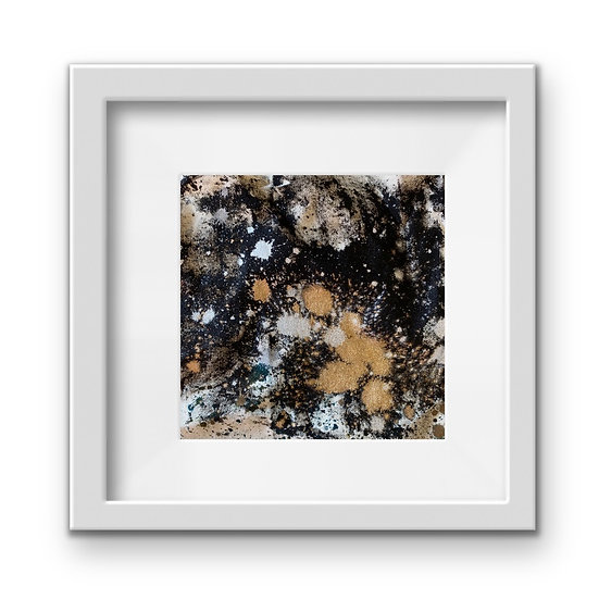 Framed Mini Abstract (#25)