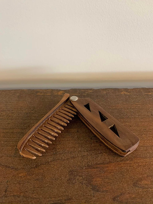 Peigne à Barbe/Beard Comb Gars D'Bois