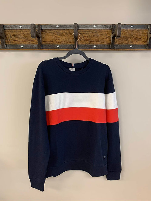 Manche Longue Bleu et Rouge / Long Sleeve Blue with Red Stripe Jack & Jones