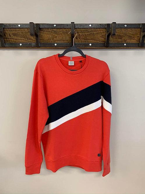 Manche Longue Rouge et Bleu/ Red With blue Stripe Jack & Jones