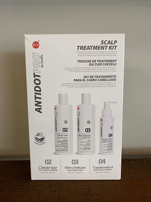 Trousse de traitement du cuir chevelu / Scalp Treatment AntidotPro