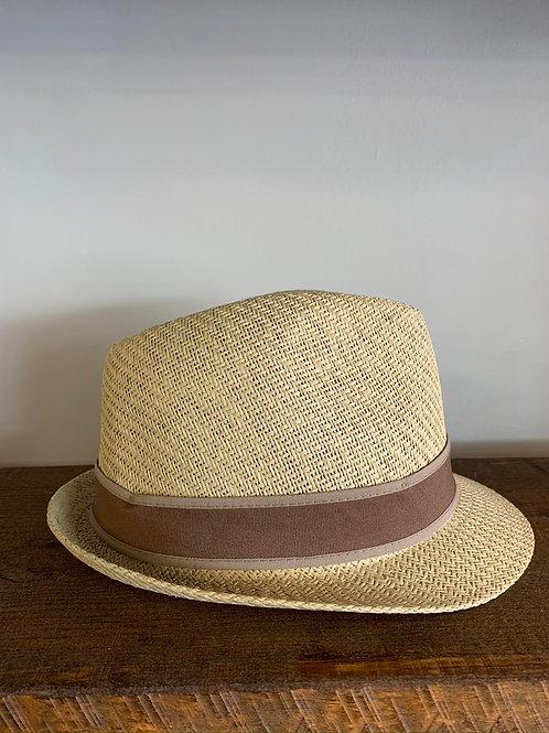 "Chapeau de ""Plage"" Beige / Beach Hat Tan Goorin Bros"