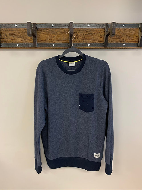 Manche Longue Bleu Marin / Navy Blue Long Sleeve Jack & Jones