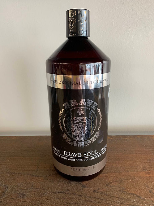 Gel Douche / Body Wash Brave and Bearded 1L