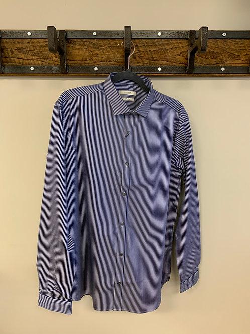 Chemise Ligné Bleu & Blanc / Dress Shirt Blue & White Stripe Jack & Jones