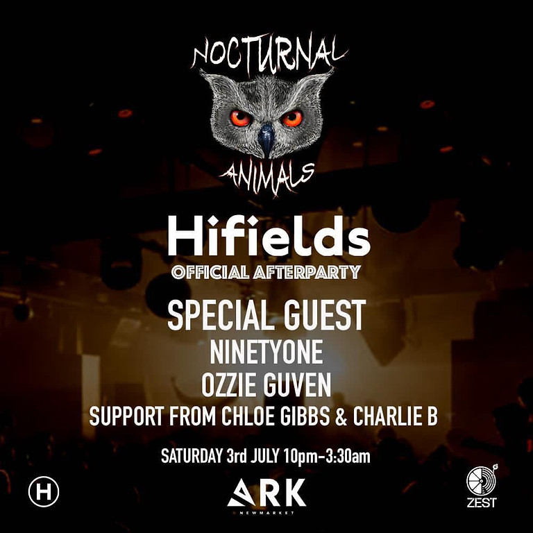 Hifields Official Afterparty