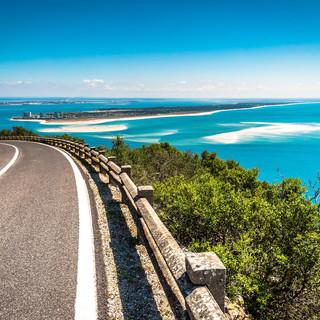 Serra da Arrábida road