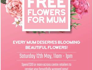 Free Flowers for Mum!