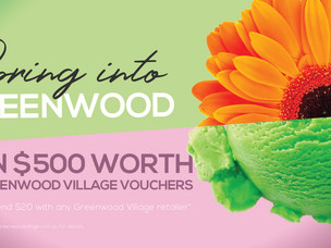 Spring into Greenwood!
