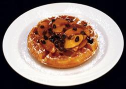 Cinnamon Apple Raisin Waffle