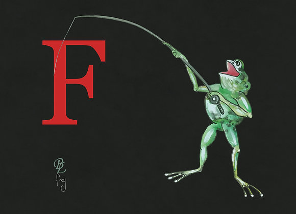 F for Frog Small