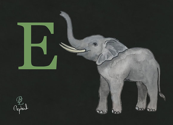 E for Elephant Small