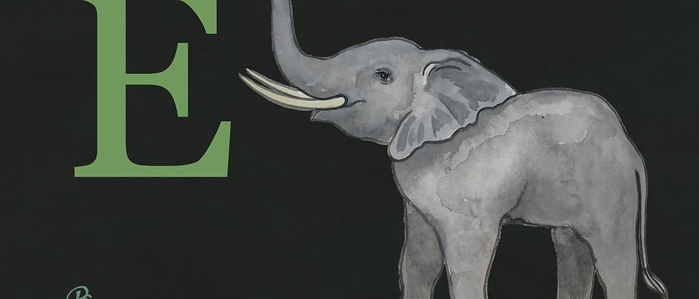 E for Elephant Medium