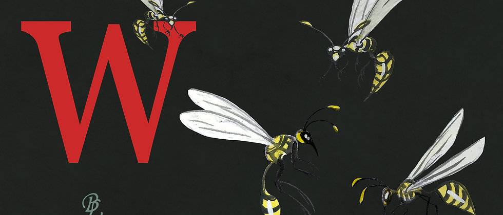 W for Wasp Small