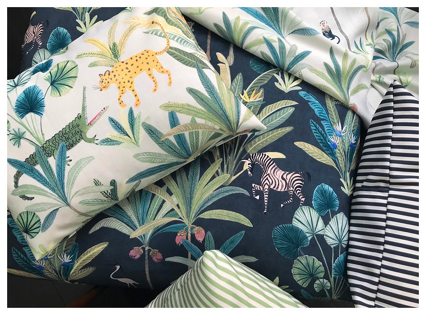 Bethany Linz Cushions, Animal Kingdom.jp