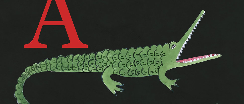 A for Alligator Small