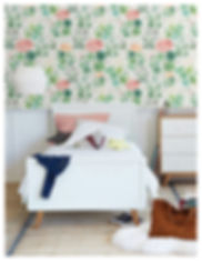 Sophies garden wallpaper, Bethany Linz.j