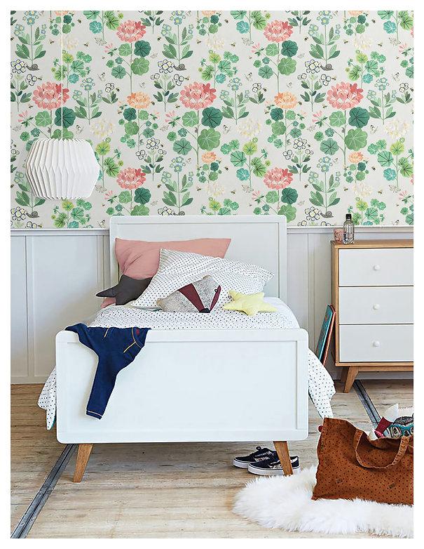 Sophies garden wallpaper, Bethany Linz.j